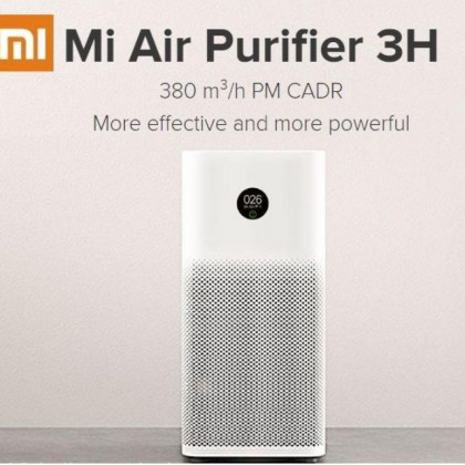 Xiaomi Mi Air Purifier 3H Best Clear Air Delivery Rate (CADR) with Smart Home Wi-Fi Intelligent App Control