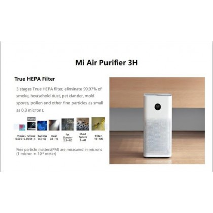 Xiaomi Air Purifier 3C |3H |PRO |PRO H (Global English) Best (CADR) with Smart Home Wi-Fi Intelligent App Control